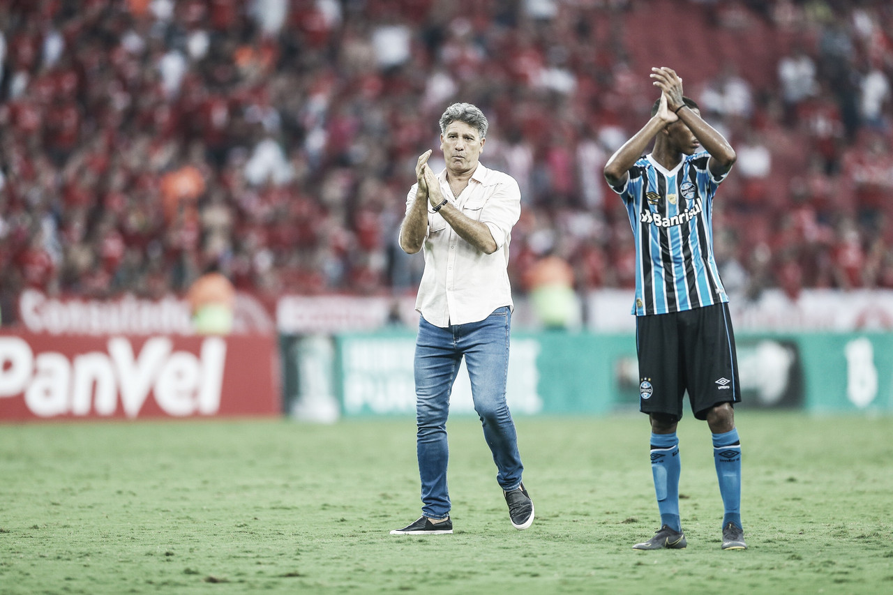 """Renato Gaúcho aprova atuação do Grêmio em final e lamenta: """"Faltou capricho"""""""