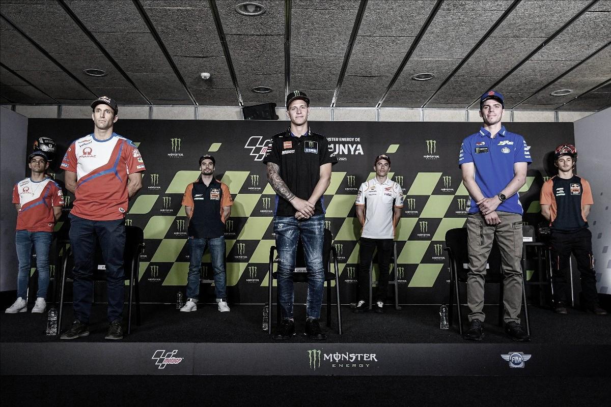 Rueda de prensa del Gran Premio de Cataluña 2021