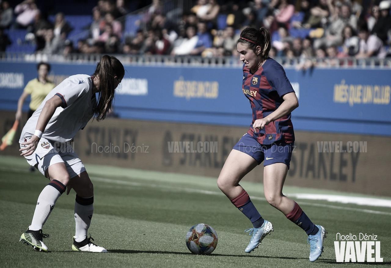 """Mariona: """"Jugar en el Camp Nou sería especial"""""""