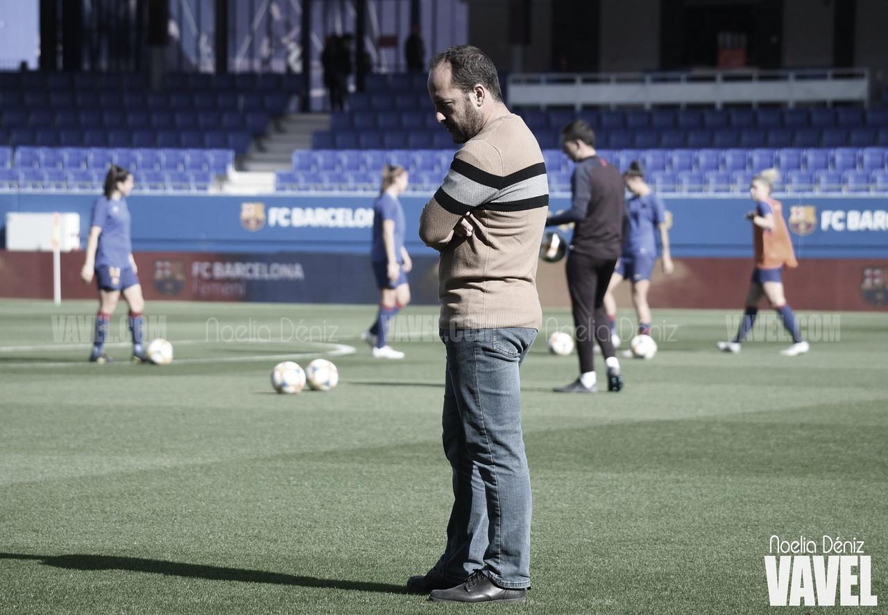 """Lluís Cortés: """"El Athletic es un equipo muy difícil de ganar"""""""