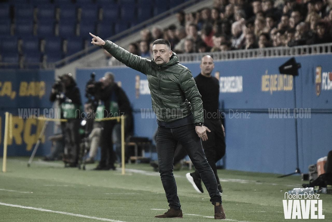 """García Pimienta: """"Me quedo con el juego, la intensidad y las ganas de ganar de este equipo"""""""