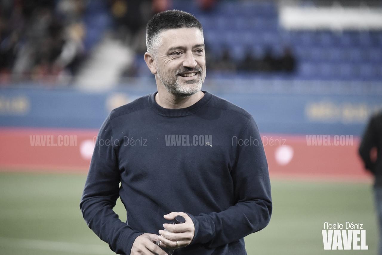 """García Pimienta: """"Creo que como mínimo hoy el Barça B no merecía perder"""""""