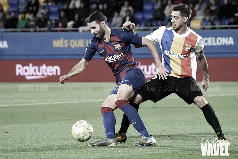 Resumen CD Ebro vs. FC Barcelona B (1-1)