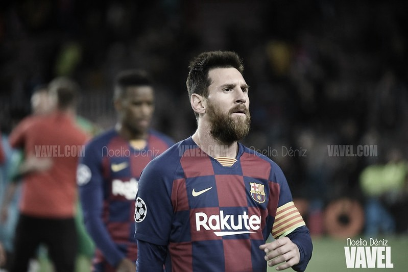 """Leo Messi: """"O cambiamos mucho o el partido contra el Nápoles lo vamos a perder también"""""""