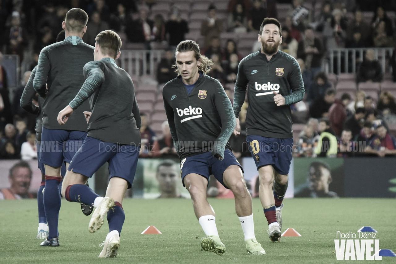 Convocatoria del FC Barcelona para enfrentarse al Nàstic