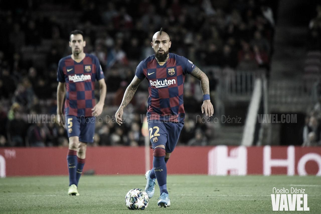 """Arturo Vidal: """"Tenemos que mejorar para ganar algo lindo"""""""