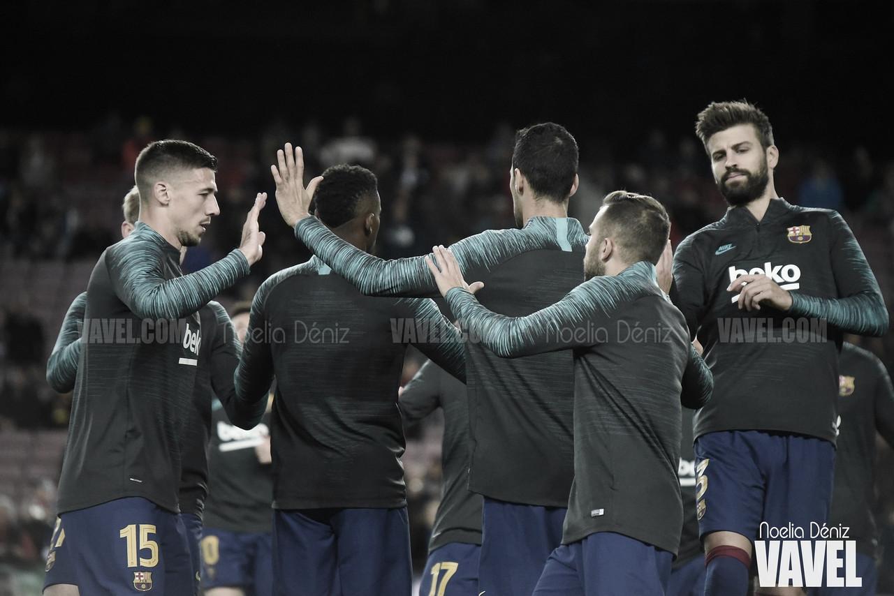 Convocatoria del Barça para viajar a Valladolid