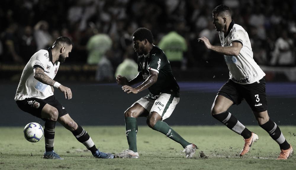 Luiz Adriano decidiu o último confronto entre as equipes em 2019. (Foto: Reprodução Sociedade Esportiva Palmeiras)