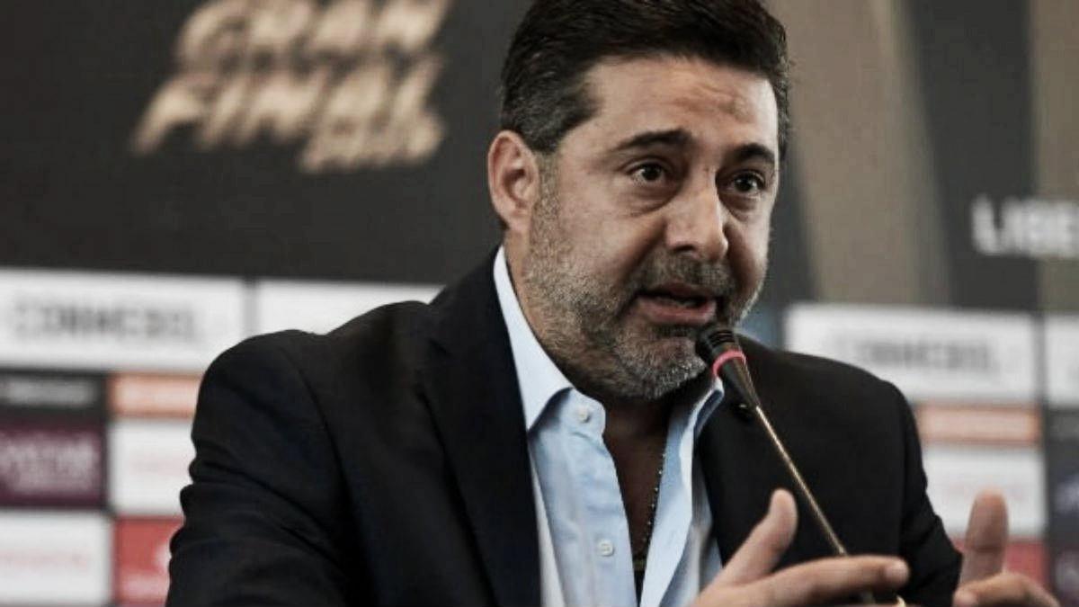 """Daniel Angelici: """"El ciclo de Alfaro se va afianzando, pero hay mucho para mejorar"""""""