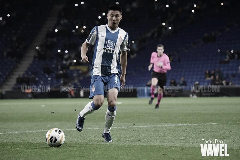Wu Lei le devuelve la felicidad al Espanyol
