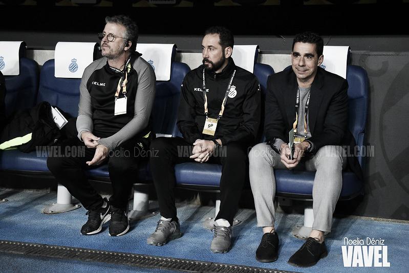 """Pablo Machín: """"No puede ser que no seamos capaces de defender la renta de dos goles"""""""