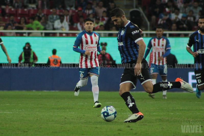 Jair Pereira, una baja más para Querétaro