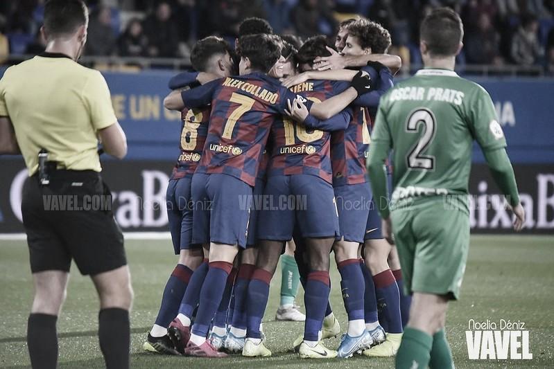 El análisis: la suerte sonríe al Barça B