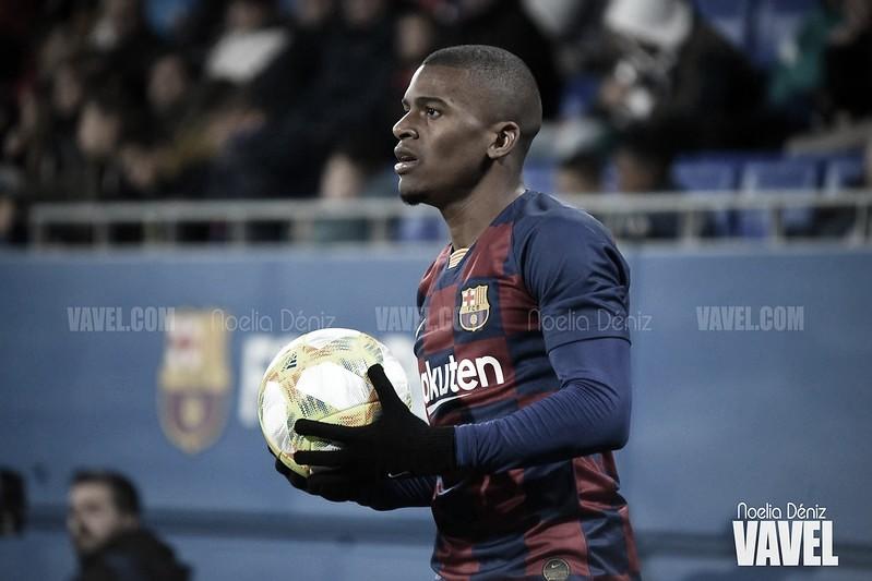 Akieme, baja en el entrenamiento del Barça B