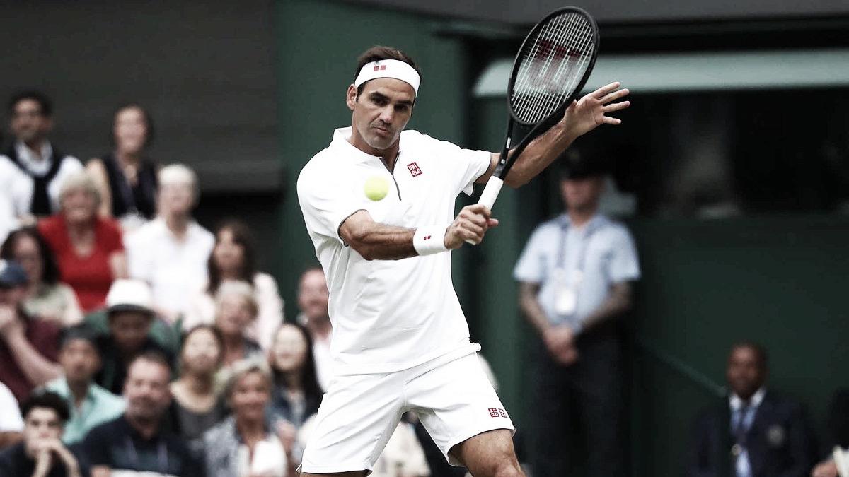 Federer atropela Berrettini e segue firme na briga pelo nono título em Wimbledon