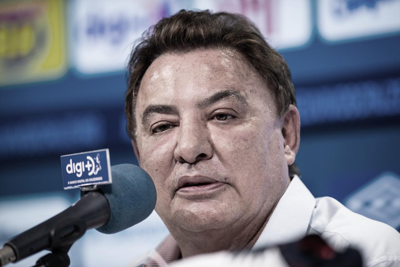 Perrella deixa gestão de futebol do Cruzeiro após quatro dias do rebaixamento