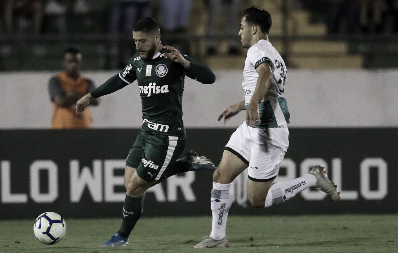 Após tropeços na estreia, Palmeiras e Goiás buscam primeira vitória no Campeonato Brasileiro