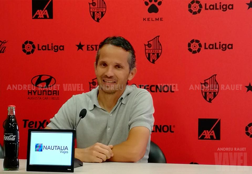 """Xavi Bartolo: """"Veía muy extraño que se suspendiera el partido"""""""