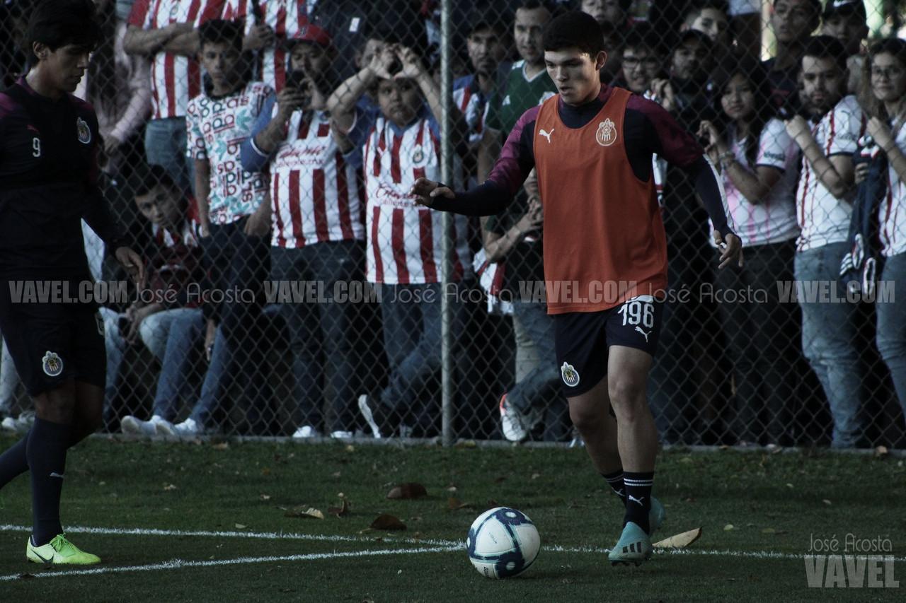 Sebastián Martínez paciente ante las oportunidades dadas en Chivas