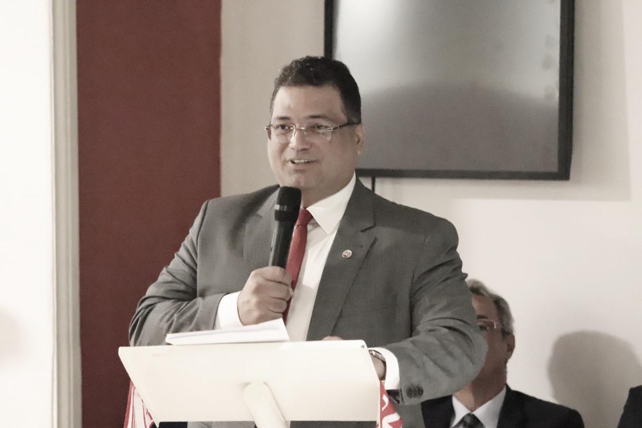 Presidente do Náutico, Edno Melo revela melhora significativa e reforça apelo para cuidados