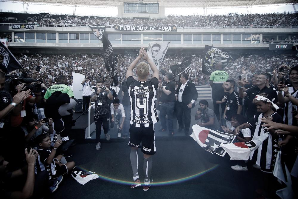 Demonstração de amor faz Botafogo atingir 30 mil sócios