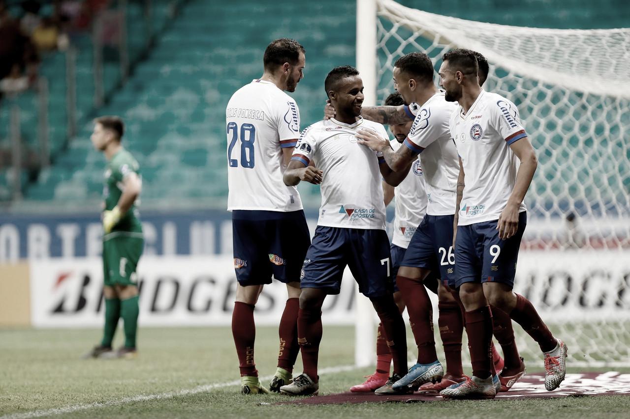 Xô, má fase! Bahia vence Nacional/PAR e abre ampla vantagem na Copa Sul-Americana