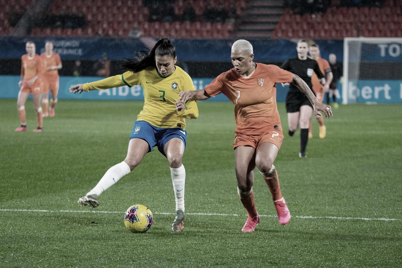 Brasil sofre diante da Holanda e estreia com empate no Torneio da França
