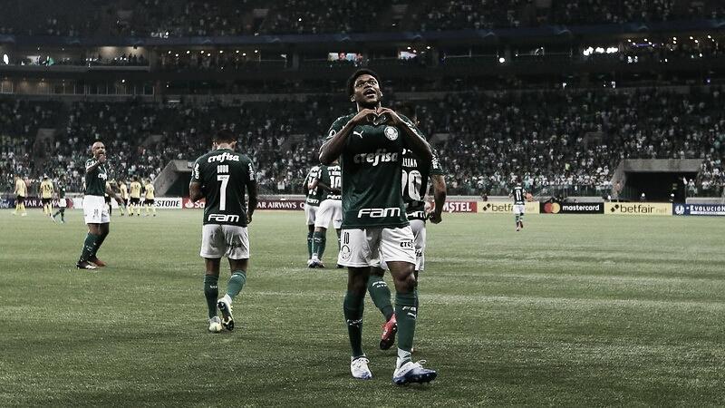 Luiz Adriano mostra eficiência em finalizações e se torna um dos principais jogadores do Palmeiras