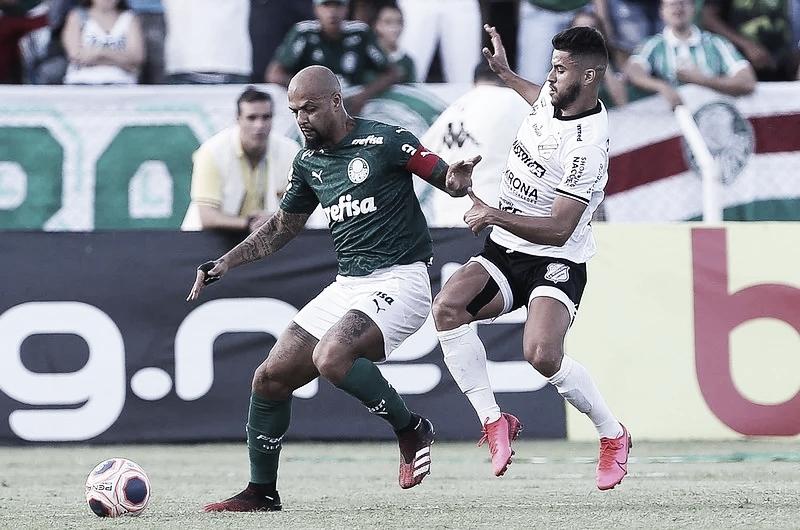 Gols e melhores momentos para Palmeiras 0 x 1 Inter de Limeira pelo Campeonato Paulista
