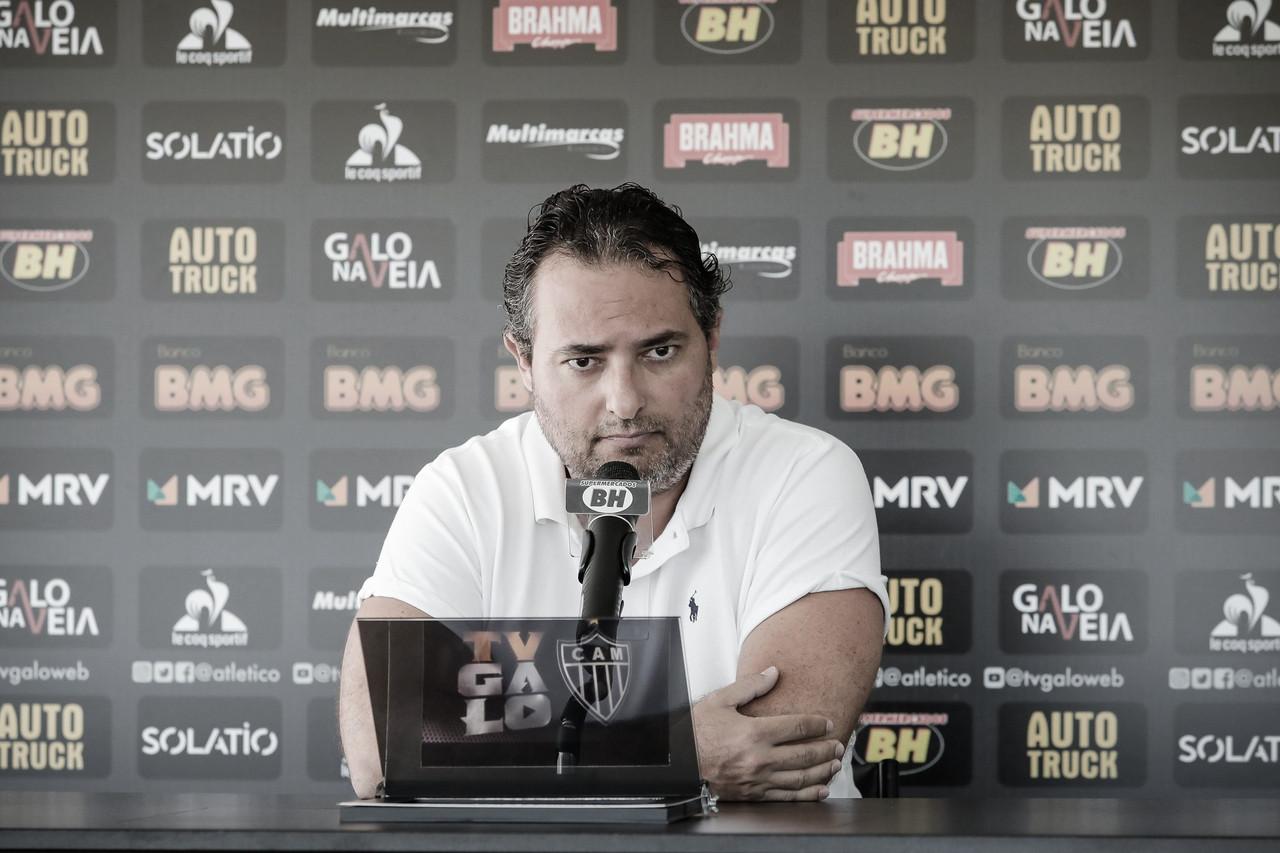 Era Mattos: em apresentação, diretor de futebol relata aprendizados e sonho do Brasileiro