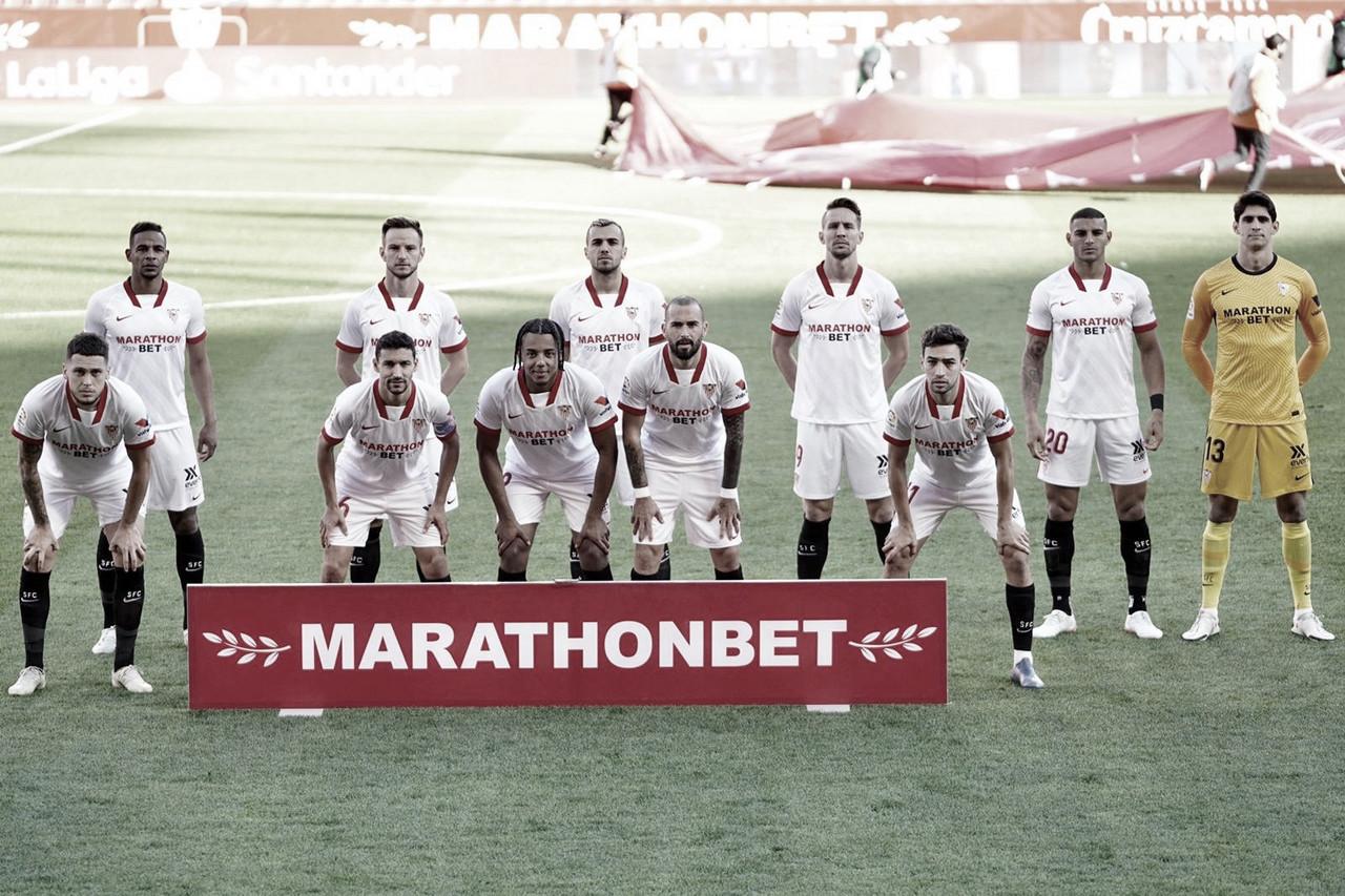 Once titular del Sevilla FC ante el Real Madrid | Foto: Sevilla FC