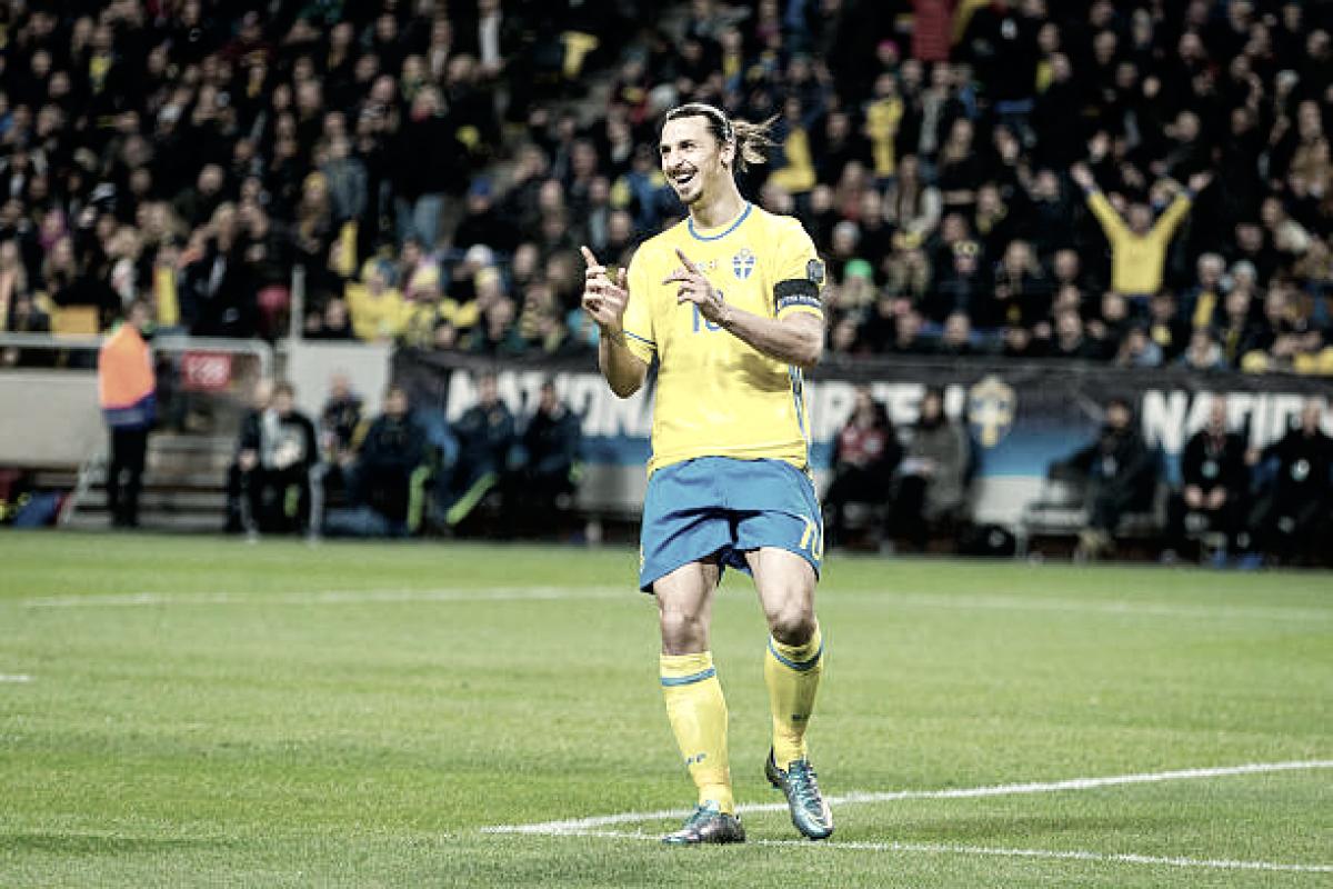 Ibrahimovic afirma que chances de jogar Copa do Mundo 2018 aumentaram