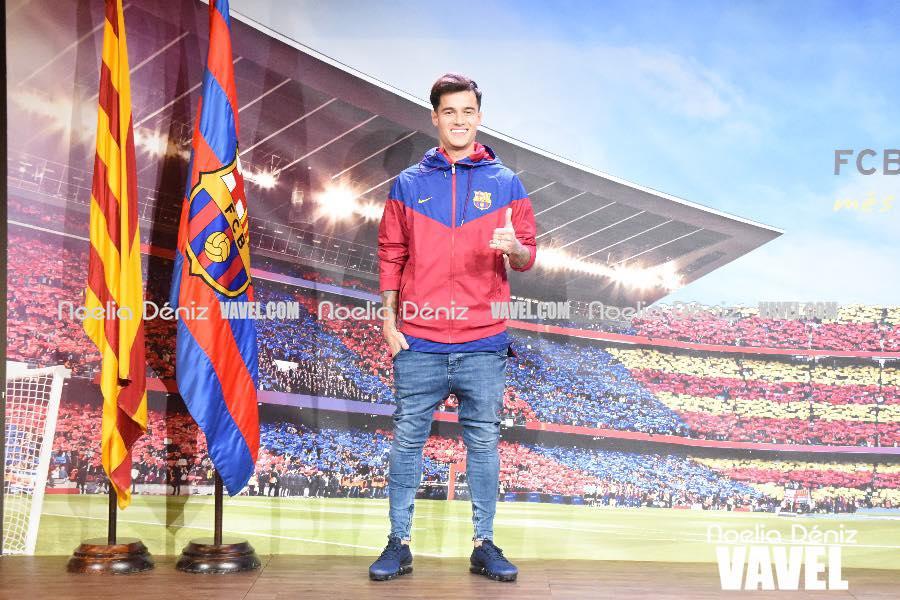 Un año de Coutinho en el Barcelona