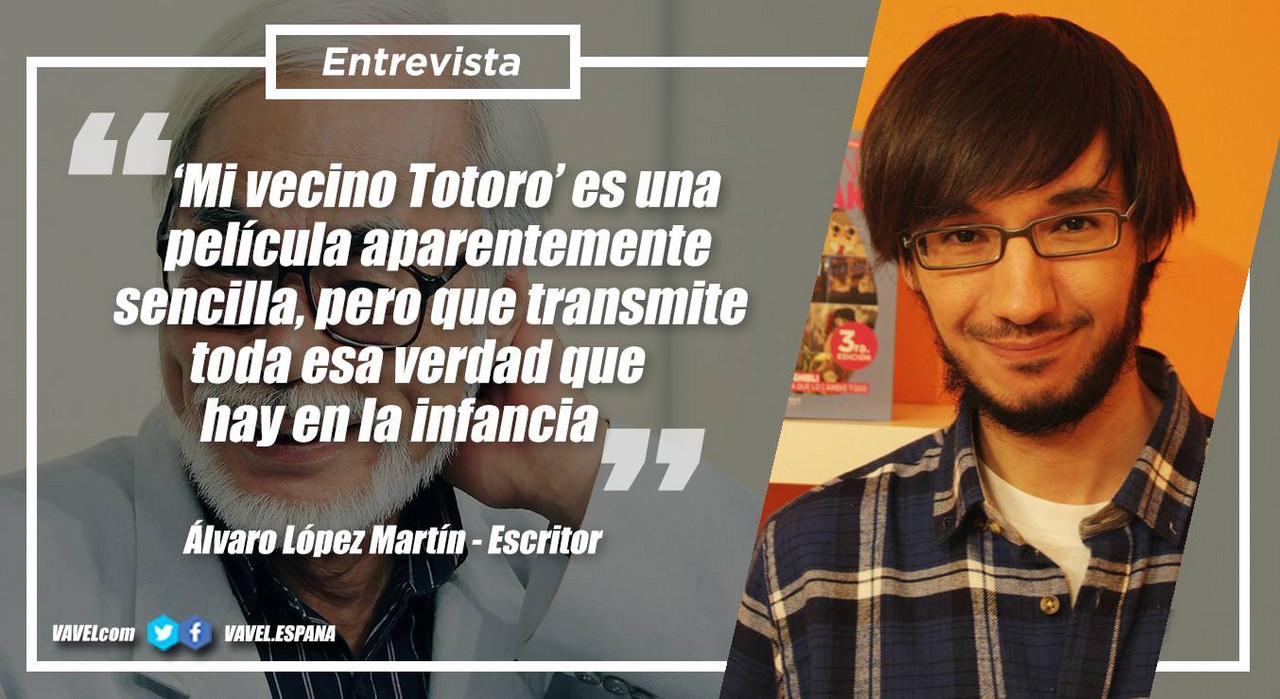 """Entrevista. Álvaro López Martín: """"'Mi Vecino Totoro' es una película aparentemente sencilla, pero que transmite toda esa verdad que hay en la infancia"""""""