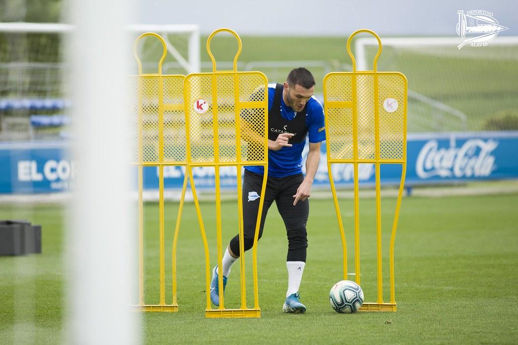 El Alavés completa su segunda semana de entrenamientos