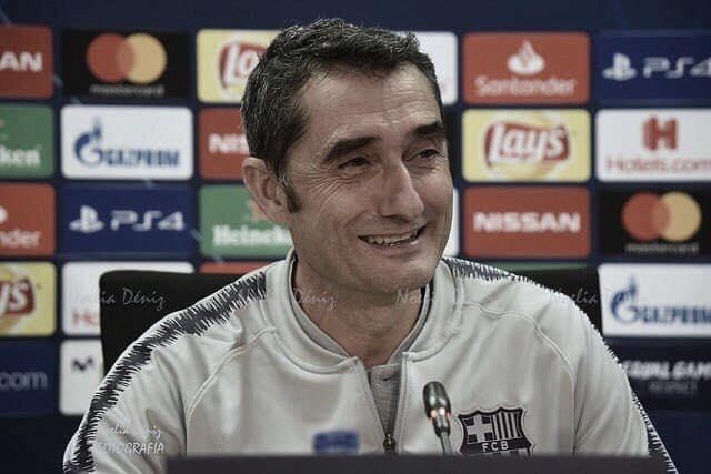 """Ernesto Valverde: """"Yo tengo contrato en vigor y ya veremos"""""""
