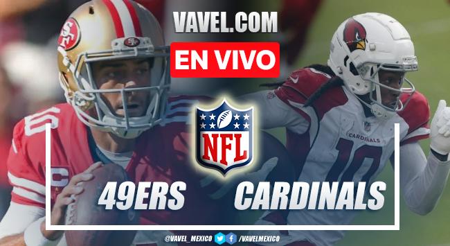 Resumen y anotaciones del 49ers 10-17 Cardinals en NFL 2021