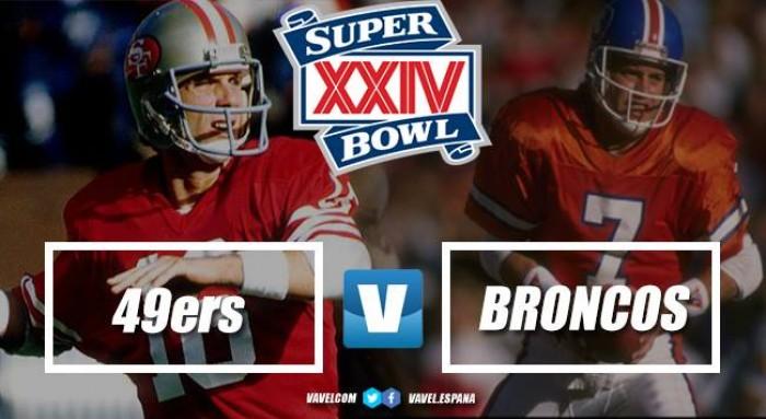 Super Bowl XXIV: Montana mantuvo la maldición del naranja
