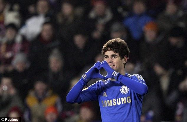 Oscar pone en ritmo al Chelsea frente al Sparta