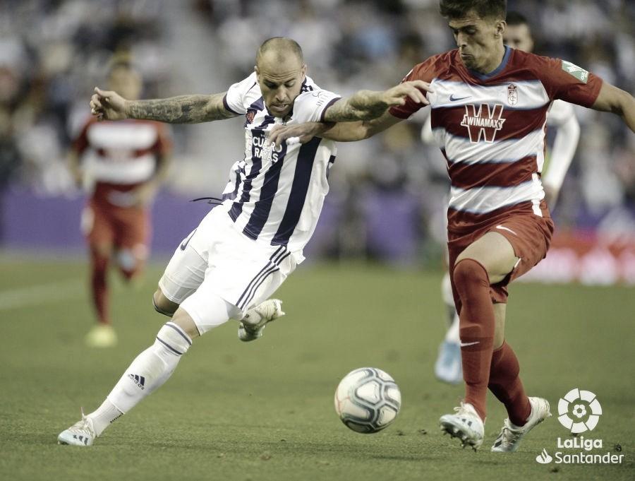 Resumen del Granada vs Real Valladolid (2-1)