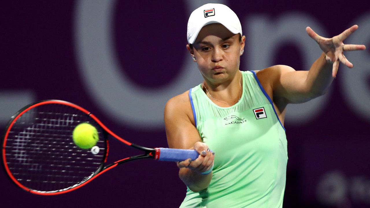 WTA Doha Day 3 wrapup: Barty, Pliskova, Bencic advance; Kenin, Mertens upset