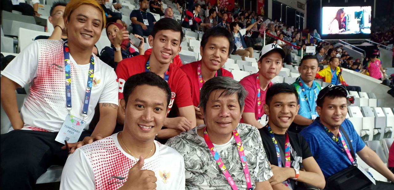 Kevin Sanjaya DKK Dukung Atlet Bulu Tangkis Asian Para Games 2018