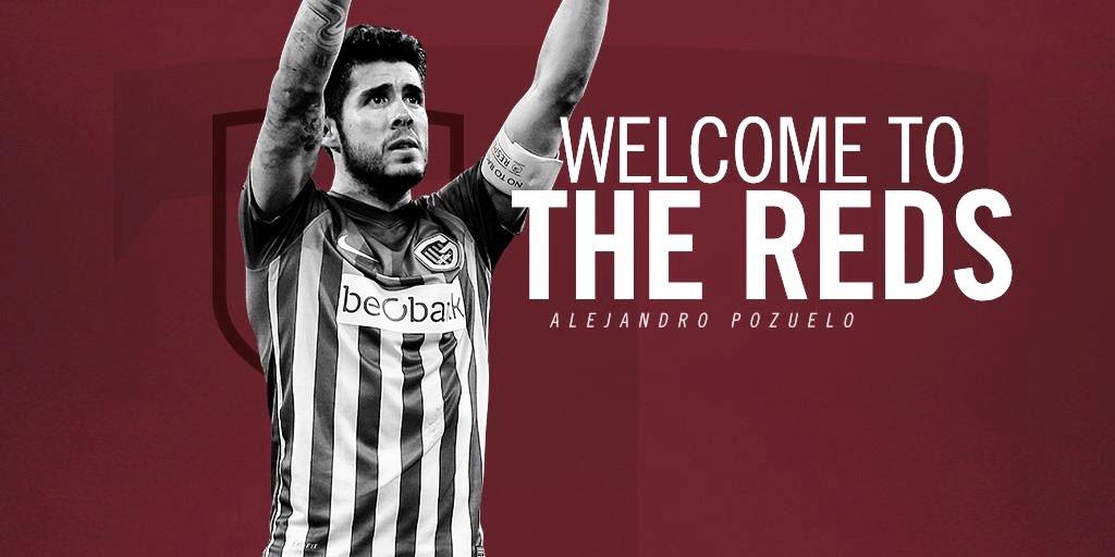 Alejandro Pozuelo firma con Toronto FC