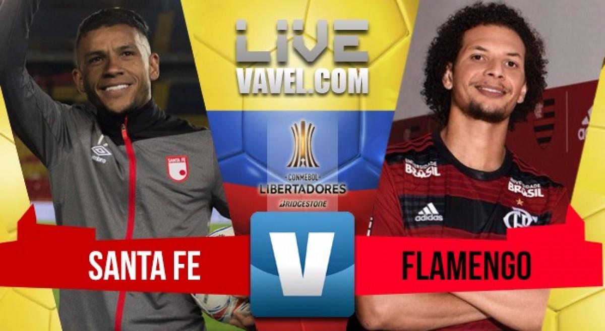 Santa Fe no pudo ante Flamengo (0-0)