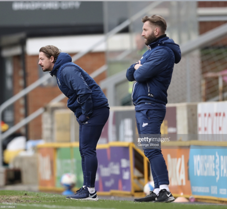 Mark Trueman and Conor Sellars part ways with Bradford City
