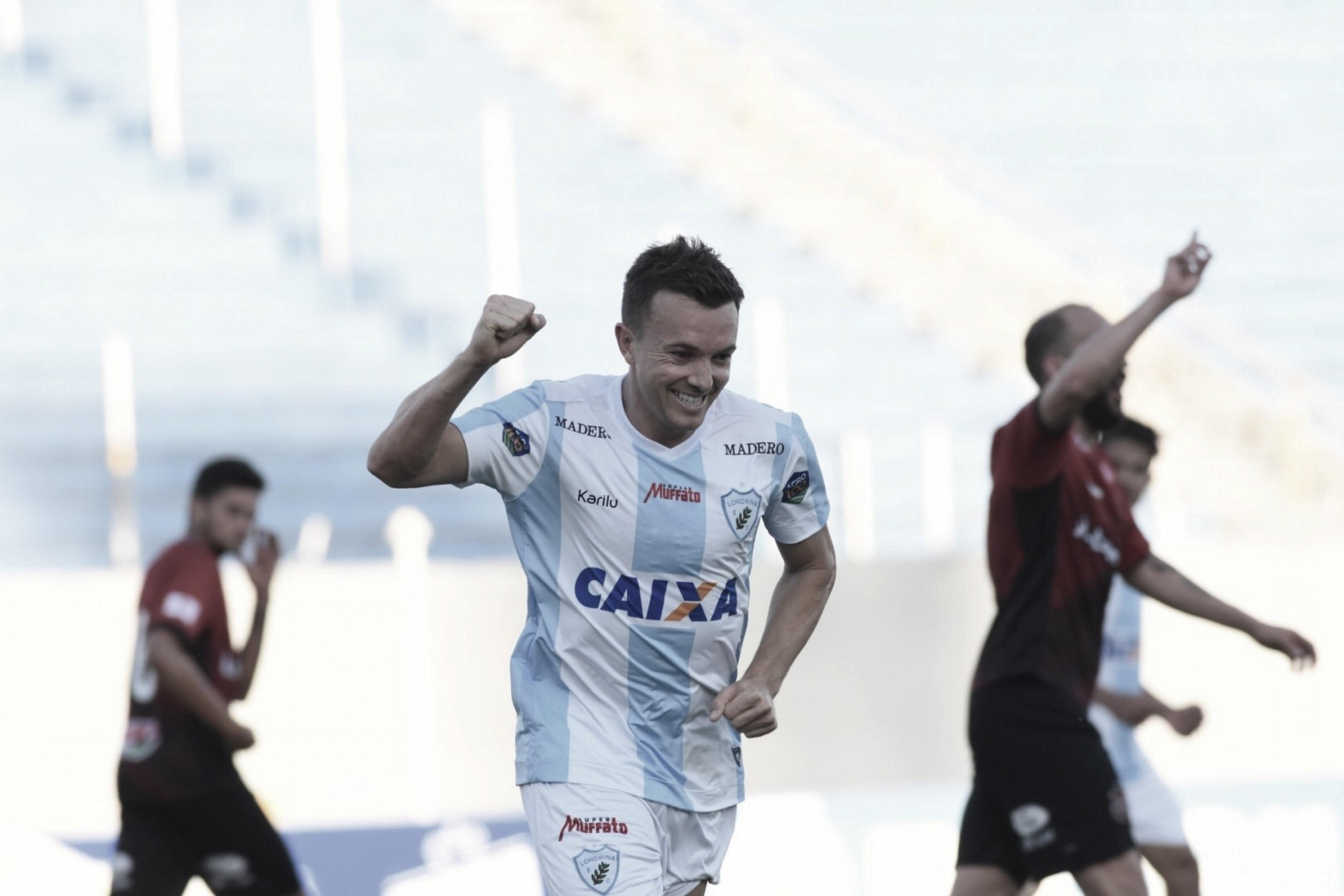 Londrina vence confronto direto contra Brasil de Pelotas e se afasta da zona de rebaixamento