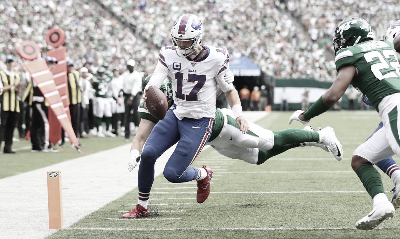 Bills dio vuelta el marcador y se llevó su primera victoria del año ante Jets