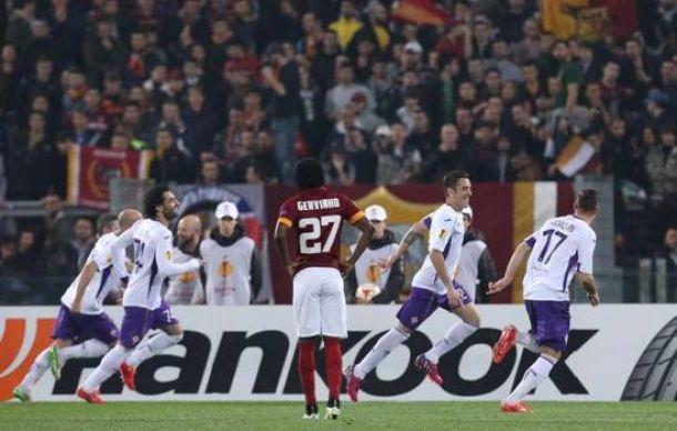 Salah y la Fiore vuelan hacia cuartos entre la mediocridad 'Giallorossi'