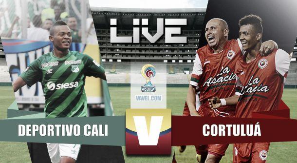Resultado Deportivo Cali - Cortulua en Liga Águila II (1-0)