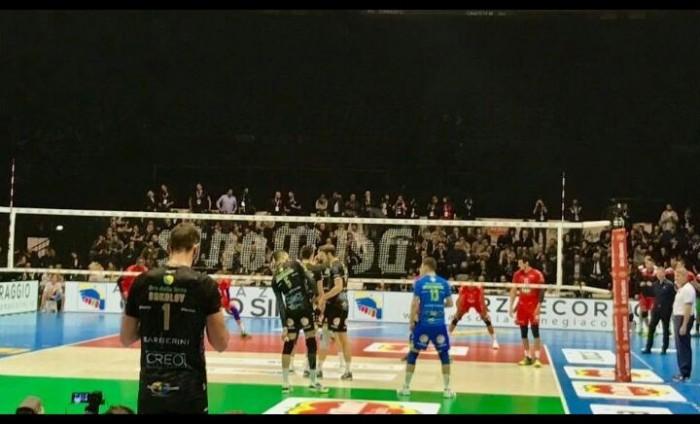 Volley - Coppa Italia: la Lube Civitanova vola in finale battendo 3-2 Piacenza